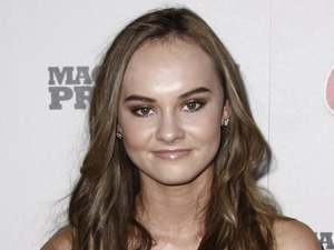 Madeline Carroll at the 'Machine Gun Preacher' premiere