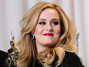 Oscars 2013: Adele and Paul Epworth (Best Original Song for 'Skyfall') with Richard Gere