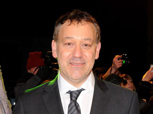 Sam Raimi arriving for the UK premiere of &#39;Oz The Great and Powerful&#39; in London
