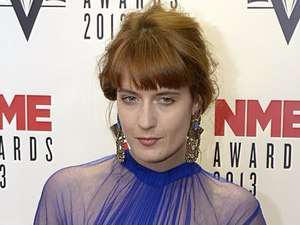 2013 NME Awards: Florence Welch