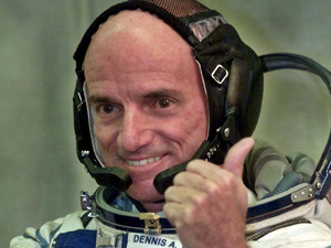 Dennis Tito, the world's first 'space tourist'
