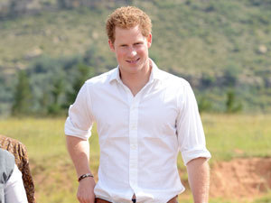Prince Harry visits Lesotho on 27 February