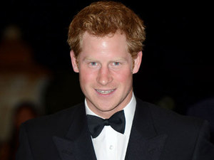 Prince Harry at Sentebale Gala Dinner, Johannesburg, South Africa - 27 Feb 2013