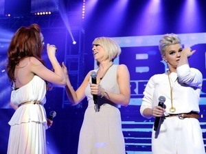 Atomic Kitten at the Big Reunion Concert, Hammersmith Apollo, London