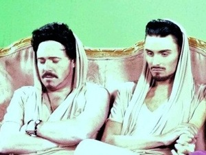 Rylan Clark and Keith Lemon on Celebrity Juice.