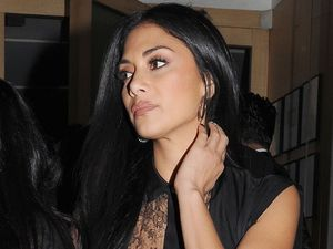 Nicole Scherzinger at Nobu Berkley restaurant.