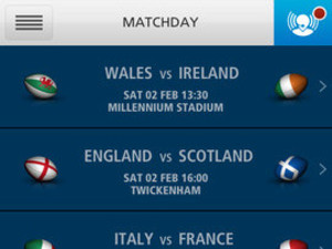'O2 Matchday' screenshot