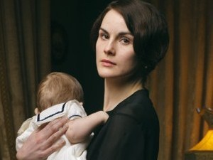 Lady Mary and baby George.