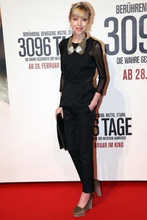 Antonia Campbell-Hughes, '3096 Days' film premiere, Vienna, Austria