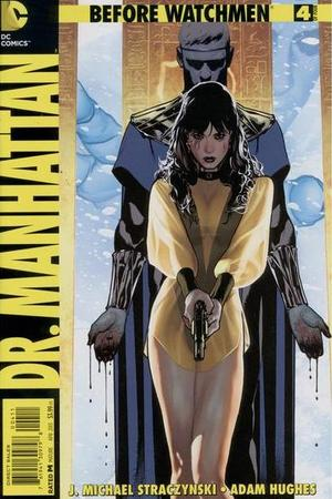 'Before Watchmen: Dr. Manhattan #4' cover artwork