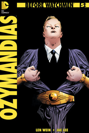 'Before Watchmen: Ozymandias #5' cover artwork