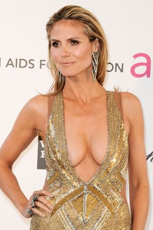 Heidi Klum, Elton John AIDS Foundation Party