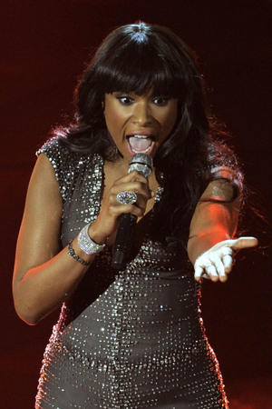 Jennifer Hudson performs at the Oscars