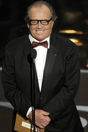 Jack Nicholson presents the Oscar for 'Best Picture'