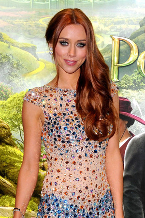 Una Healy arriving for the UK premiere of 'Oz The Great and Powerful' in London