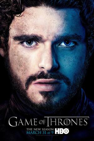 Game of Thrones - season 3 poster: Robb Stark