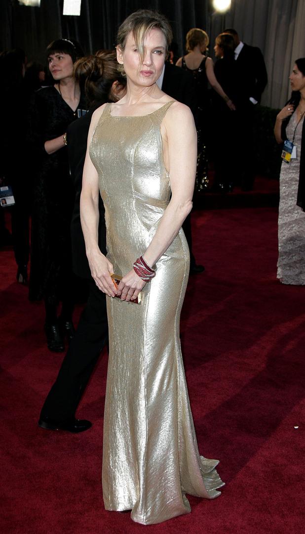 Renee Zellweger Oscars 2013 Best Amp Worst Dressed