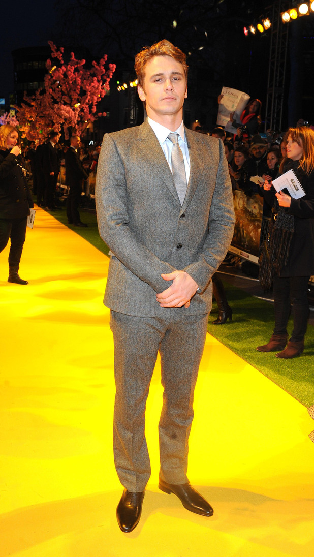 James Franco, Oz the Great and Powerful premiere, London