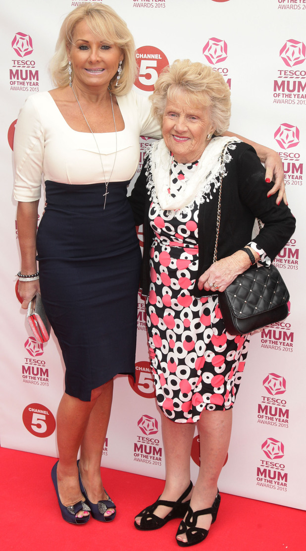 Carol Wright and Nanny Pat.