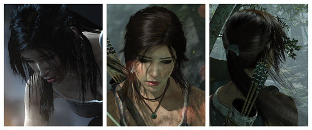 Tomb Raider showcases AMD's Tressfx hair technology