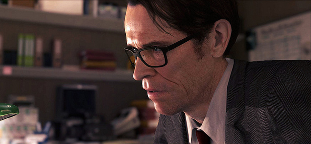 Screenshot of Willem Dafoe