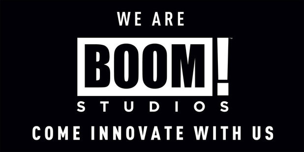BOOM! Studios new logo