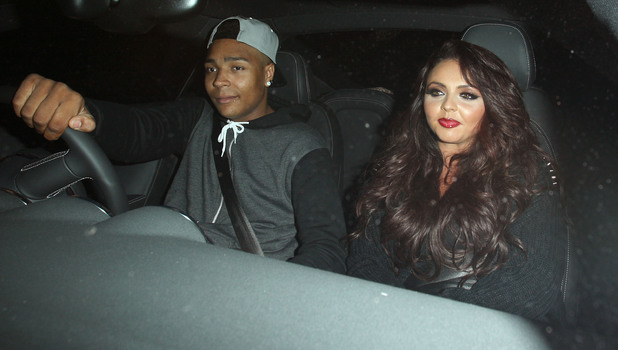 Little Mix's Jesy Nelson and Diversity's Jordan Banjo