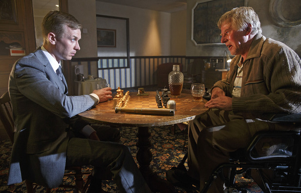 Mr Rook (Steven Robertson) & Hatch (Phil Davis)