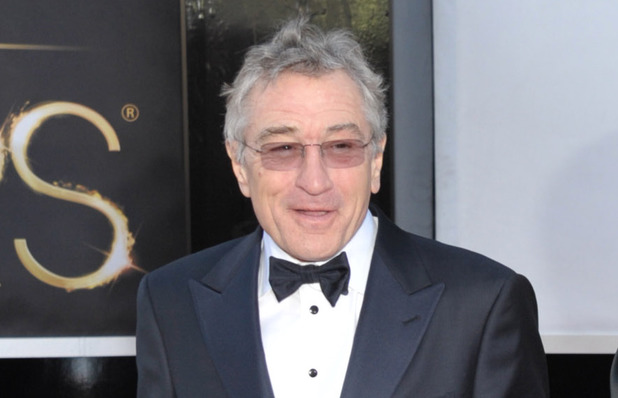 Robert De Niro, Grace Hightower, Oscars 2013