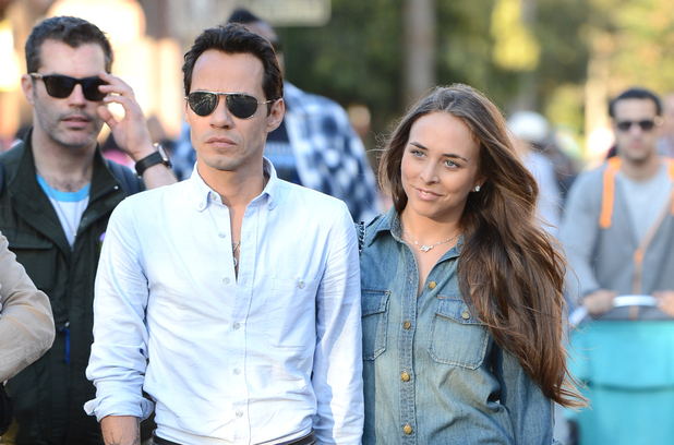 Marc Anthony and Topshop heiress Chloe Green on a date at Disneyland - February 26, 2013