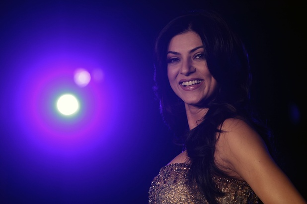 Sushmita Sen photographed in September 2010