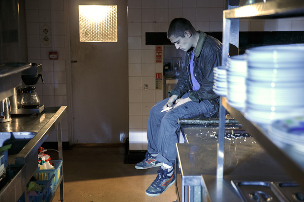 Being Human S05E05: 'No Care, All Responsibility' - Tom (Michael Socha)