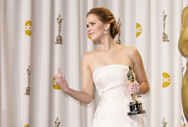 The 85th Annual Oscars at Hollywood & Highland Center - Press RoomFeaturing: Jennifer Lawrence Where: Los Angeles, California, United States When: 24 Feb 2013 Credit: Adriana M. Barraza/WENN.com