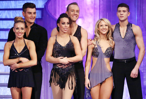 Dancing on Ice: The three finalists