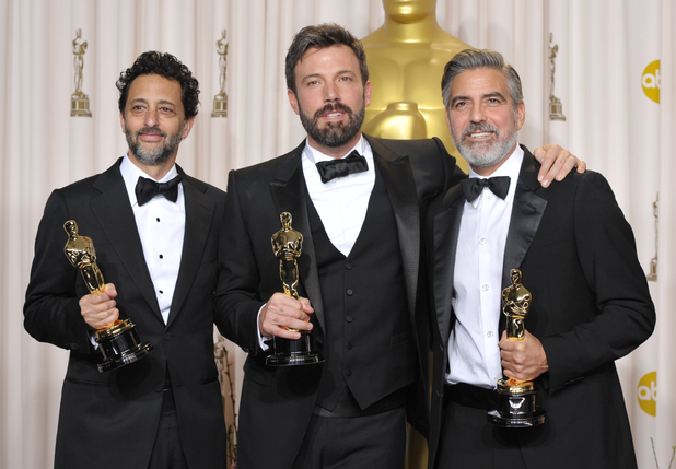 Grant Heslov, Ben Affleck and George Clooney - Best Picture (Argo)