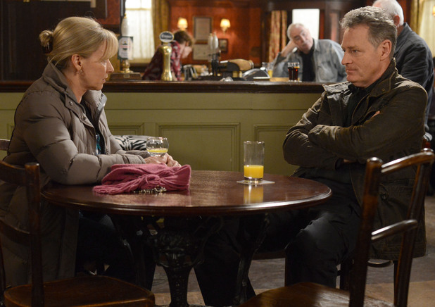Carol meets up with Bianca's Probation Officer Steve.