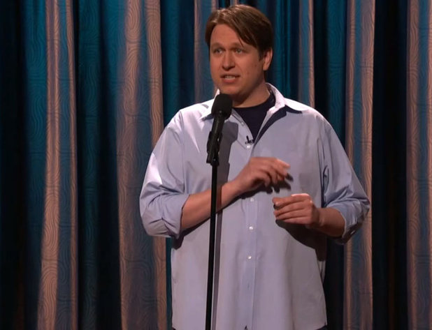 Pete Holmes performing on &#39;Conan&#39; in 2011