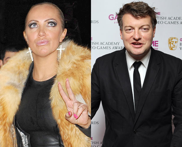 Charlie Brooker and Aisleyne