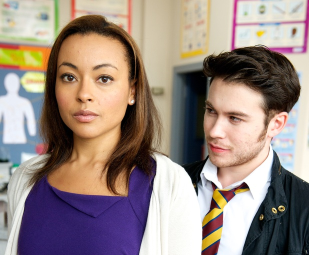 Sian Diamond and Barry Barry in Waterloo Road