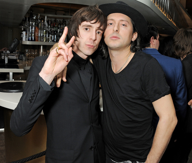 Miles Kane and Carl Barat