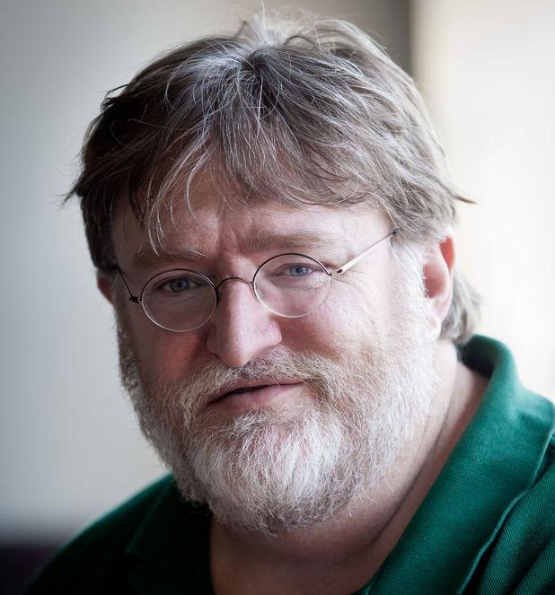Valve CEO Gabe Newell.