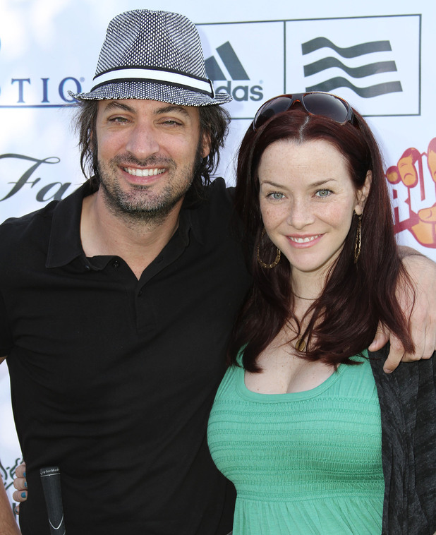 Stephen Full and Annie Wersching 7th Annual Hack 'n' Smack Celebrity Golf Tournament in aid of the Melanoma Research Foundation held at El Caballero Country Club Tarzana, California - 20.04.10