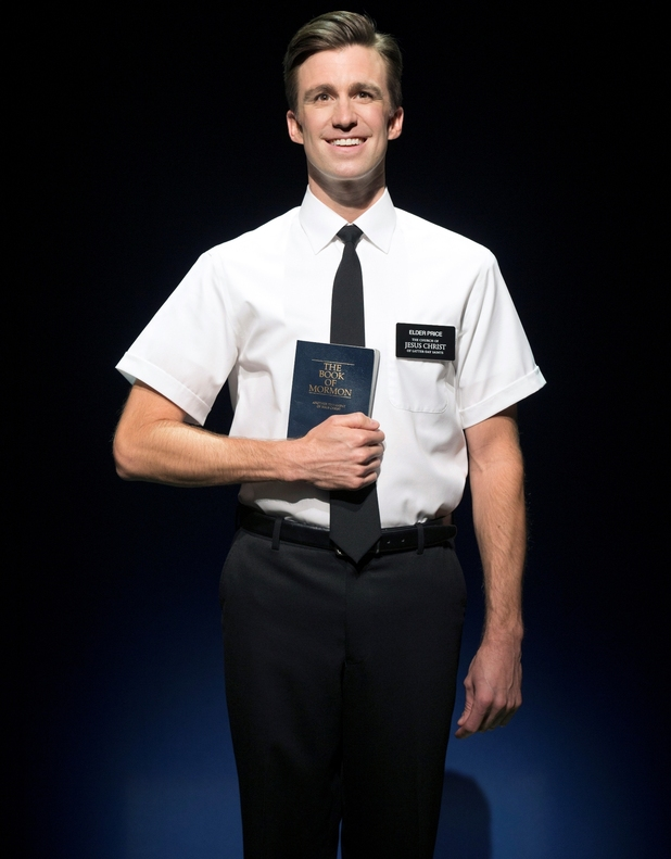 Gavin Creel (Elder Price) in The Book of Mormon