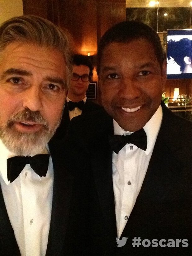 George Clooney and Denzel Washington