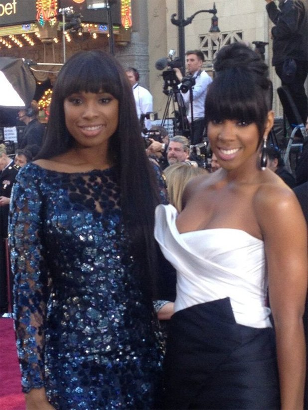 Kelly Rowland and Jennifer Hudson