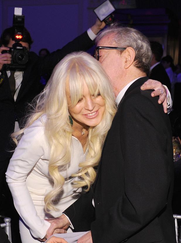 Lindsay Lohan, Woody Allen