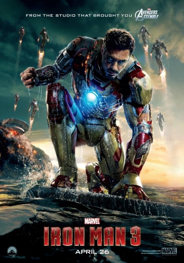 'Iron Man 3' poster