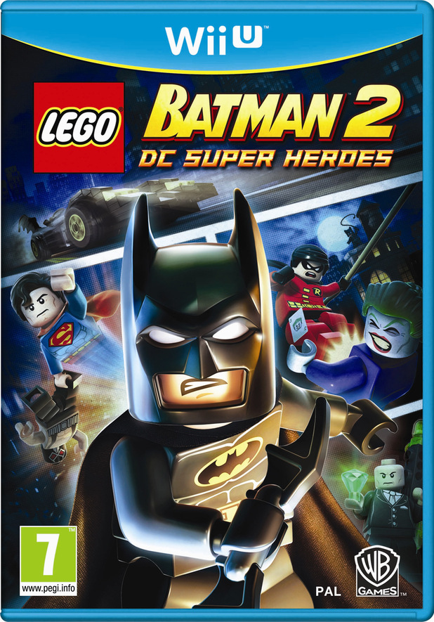 'Lego Batman 2' Wii U pack shot