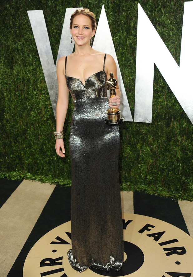 Jennifer Lawrence, 2013 Vanity Fair Oscar party
