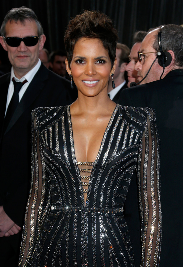 Halle Berry, Oscars 2013, Versace gown